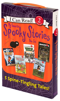 My Favorite Spooky Stories Box Set: 5 Silly, Not-Too-Scary Tales! (I Can Read Level 2) Cover Image