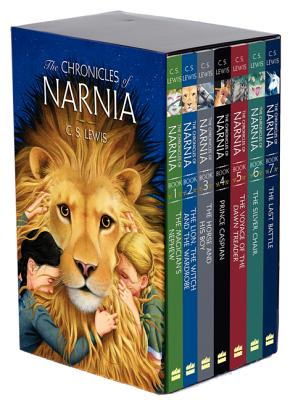 The Chronicles of Narnia Paperback 7-Book Box Set: 7 Books in 1 Box Set Cover Image