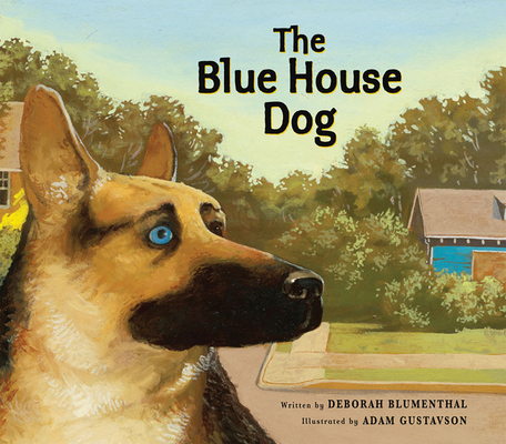 The Blue House Dog Cover