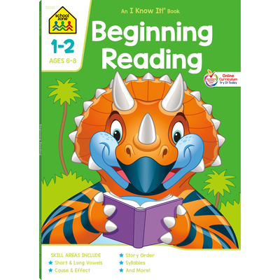 Beginning Reading 1-2 Deluxe Edition Workbook Cover Image