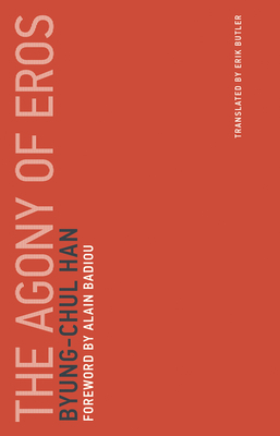 The Agony of Eros (Untimely Meditations #1) Cover Image