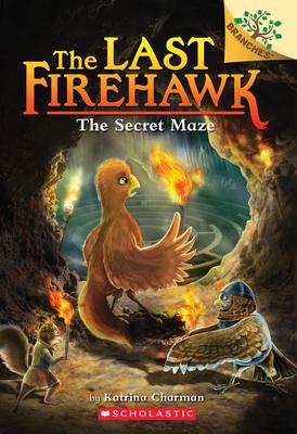 The Secret Maze: A Branches Book (The Last Firehawk #10) Cover Image