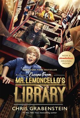 Escape from Mr. Lemoncello's Library Movie Tie-In Edition Cover Image