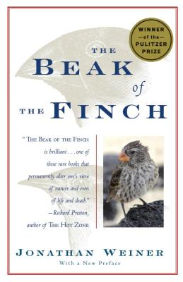 The Beak of the Finch: A Story of Evolution in Our Time Cover Image