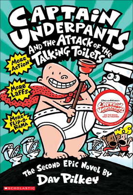 Captain Underpants and the Attack of Thetalking Toilets Cover Image