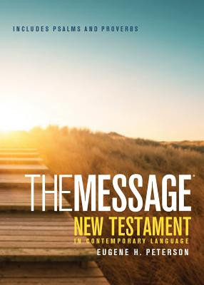 Message Pocket New Testament Psalms and Proverbs-MS Cover Image