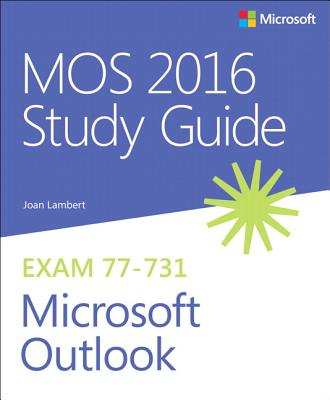 Mos 2016 Study Guide for Microsoft Outlook (Mos Study Guide) Cover Image