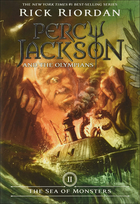 The Sea of Monsters (Percy Jackson & the Olympians) Cover Image