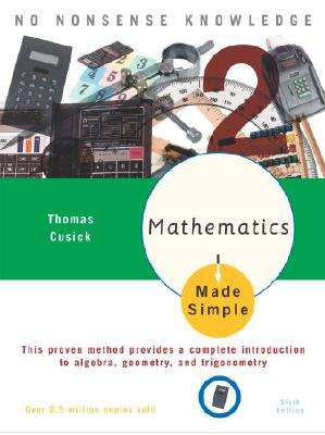 Mathematics Made Simple Cover