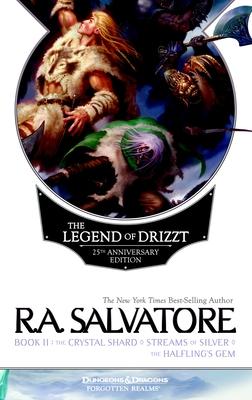 The Legend of Drizzt 25th Anniversary Edition, Book II Cover Image