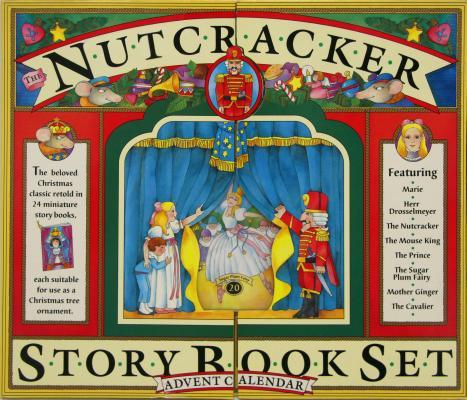 The Nutcracker Story Book Set and Advent Calendar Cover Image