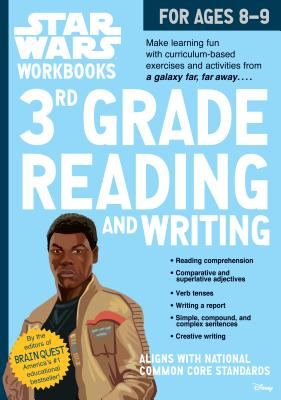Star Wars Workbook: 3rd Grade Reading and Writing (Star Wars Workbooks) Cover Image