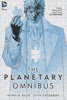The Planetary Omnibus Cover