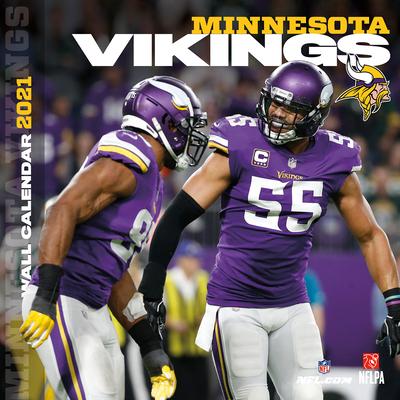 Minnesota Vikings 2021 12x12 Team Wall Calendar Cover Image
