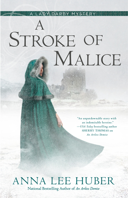 A Stroke of Malice (A Lady Darby Mystery #8) Cover Image