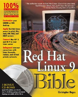Cover for Red Hat Linux 9 Bible [With 2 CDROMs]