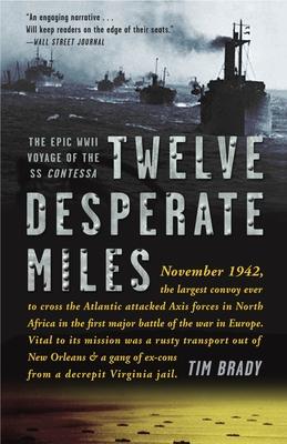 Twelve Desperate Miles Cover