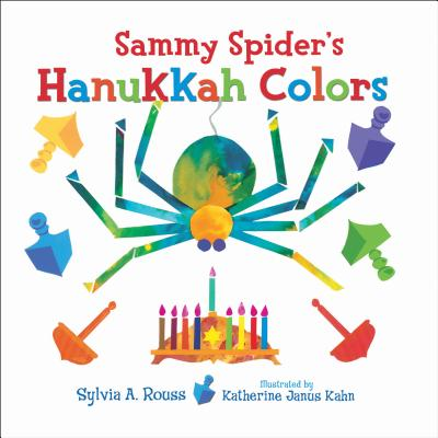 Sammy Spider's Hanukkah Colors (Very First Board Books) Cover Image