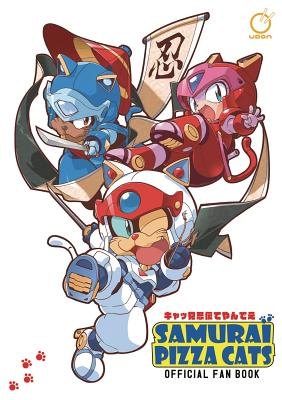 Samurai Pizza Cats: Official Fan Book Cover Image