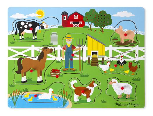 Old MacDonald's Farm Sound Puzzle [With Battery] Cover Image