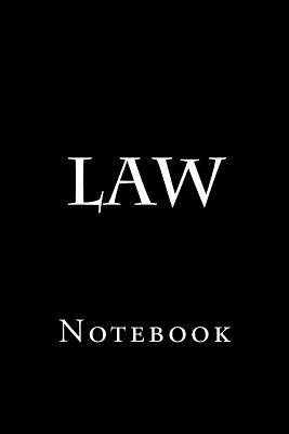 Law: Notebook Cover Image