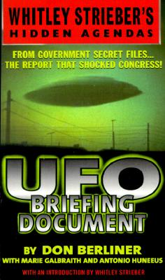 UFO Briefing Document: The Best Available Evidence Cover Image