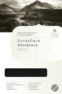 Ultrathin Reference Bible-Hcsb Cover