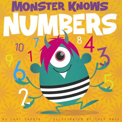 Monster Knows Numbers Cover