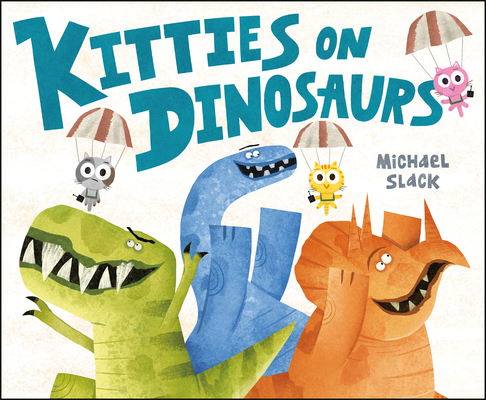Kitties on Dinosaurs Cover Image