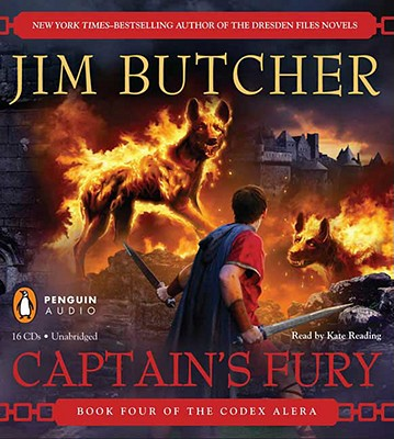 Cover for Captain's Fury