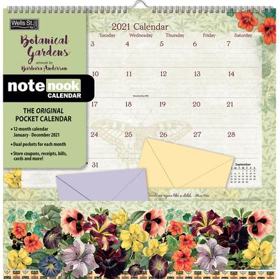 Botanical Gardens 2021 Note Nook(tm) Cover Image
