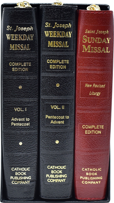St. Joseph Daily and Sunday Missals: Complete Gift Box 3-Volume Set Cover Image