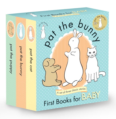 Pat the Bunny: First Books for Baby (Pat the Bunny) (Touch-and-Feel) Cover Image