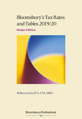 Tax Rates and Tables 2019/20: Budget Edition Cover Image