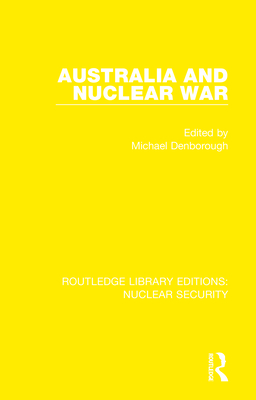 Australia and Nuclear War cover