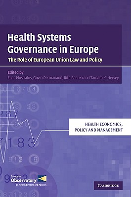 Health Systems Governance in Europe (Health Economics) Cover Image