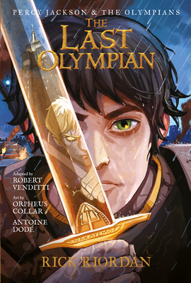 Percy Jackson and the Olympians The Last Olympian: The Graphic Novel (Percy Jackson & the Olympians) Cover Image