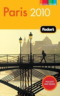 Fodor's Paris 2010 Cover