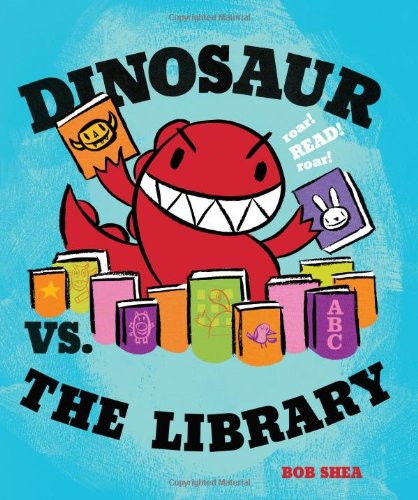 Dinosaur vs. the Library Cover
