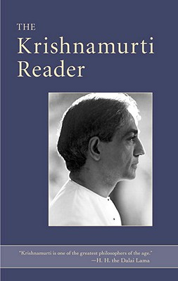 The Krishnamurti Reader Cover