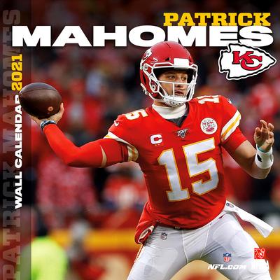 Kansas City Chiefs Patrick Mahomes 2021 12x12 Player Wall Calendar Cover Image