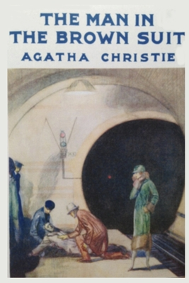 The Man in the Brown Suit Agatha Christie: Paperback Book Cover Image