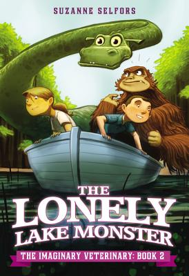 The Lonely Lake Monster (Imaginary Veterinary #2) Cover Image