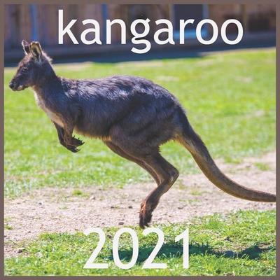 kangaroo: 2021 Wall & Office Calendar, 12 Month Calendar HAPPY KIDS CALENDAR Cover Image