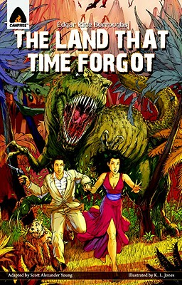 The Land That Time Forgot: The Graphic Novel (Campfire Graphic Novels) Cover Image