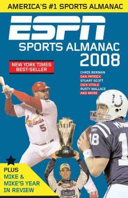 ESPN Sports Almanac 2008 Cover