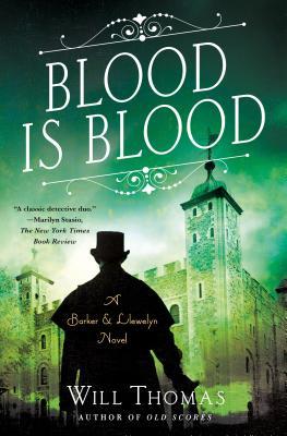 Blood Is Blood: A Barker & Llewelyn Novel Cover Image