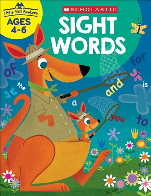 Little Skill Seekers: Sight Words Workbook Cover Image