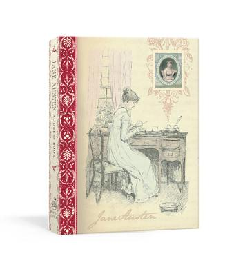 Jane Austen Address Book Cover
