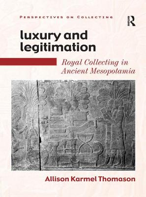 Cover for Luxury and Legitimation